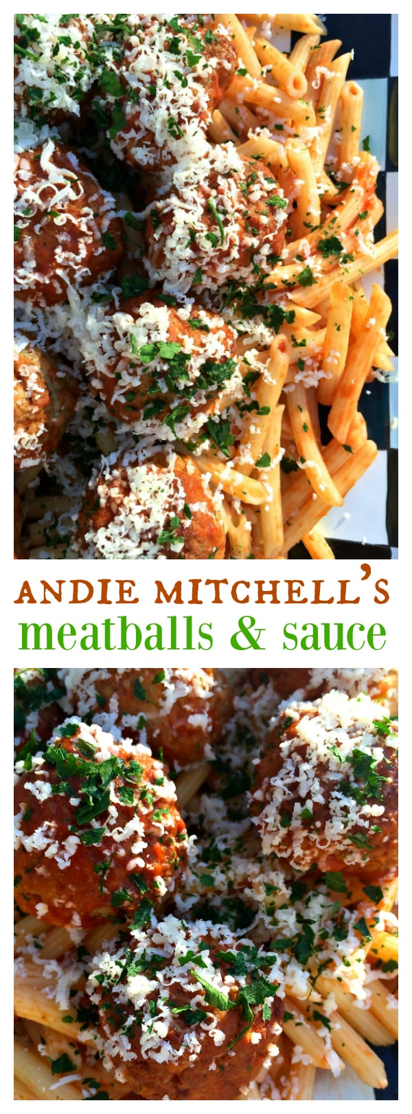 Andie Mitchell's PJ's Meatballs and Sauce