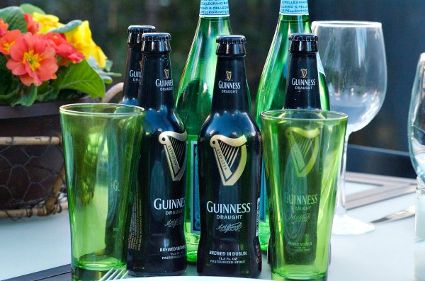 St. Patrick's Day Menu - Guinness beer