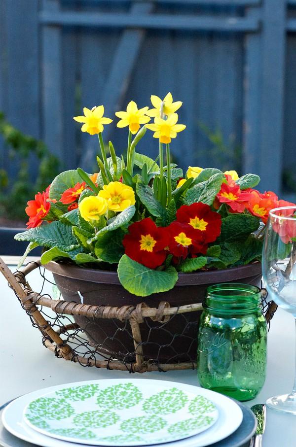 St. Patrick's Day Menu - daffodils