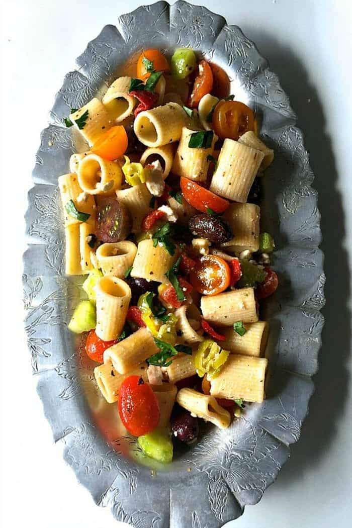 Fabulous Greek Pasta Salad