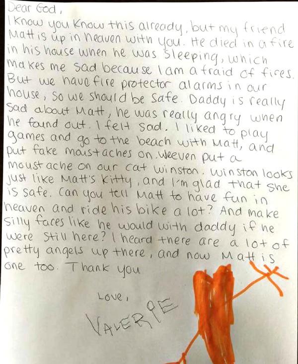 USPS Child's Letter to God