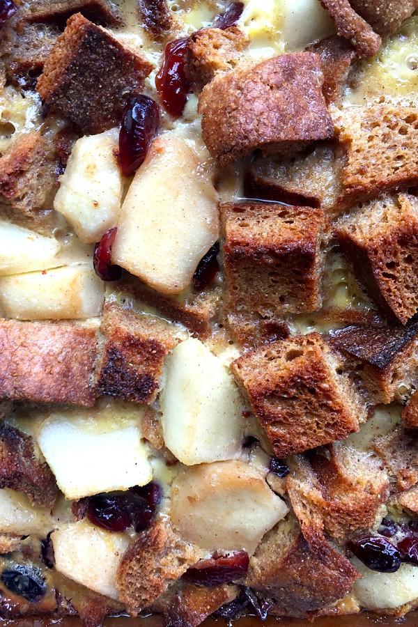 Stuffed Pear French Toast