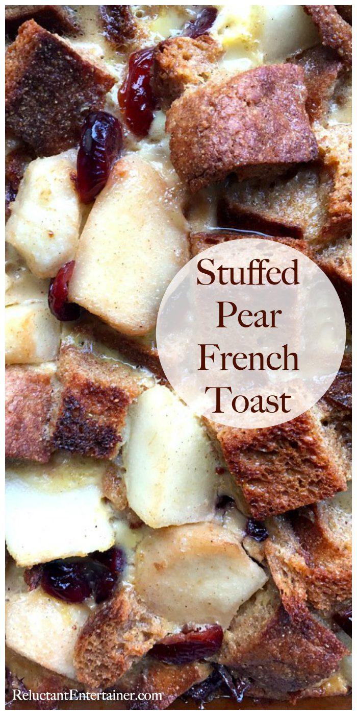 Stuffed Pear French Toast Recipe