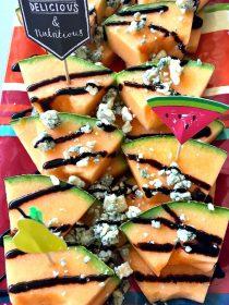 Melon Blue Cheese Appetizer