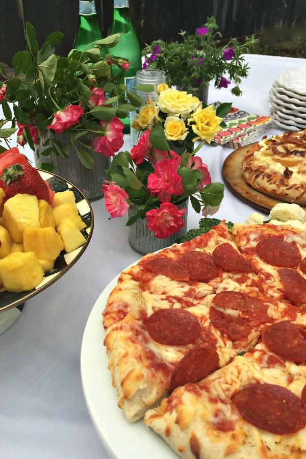 Roasted Pear Ricotta Pizza