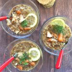 Chicken Lentil-Farro Soup
