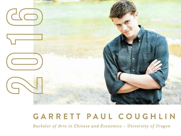 Minted College Graduation Announcements