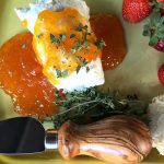 Goat Cheese Apricot Jam Appetizer