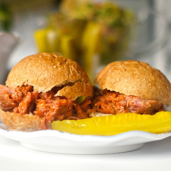 Barbecue Pulled Pork Sliders