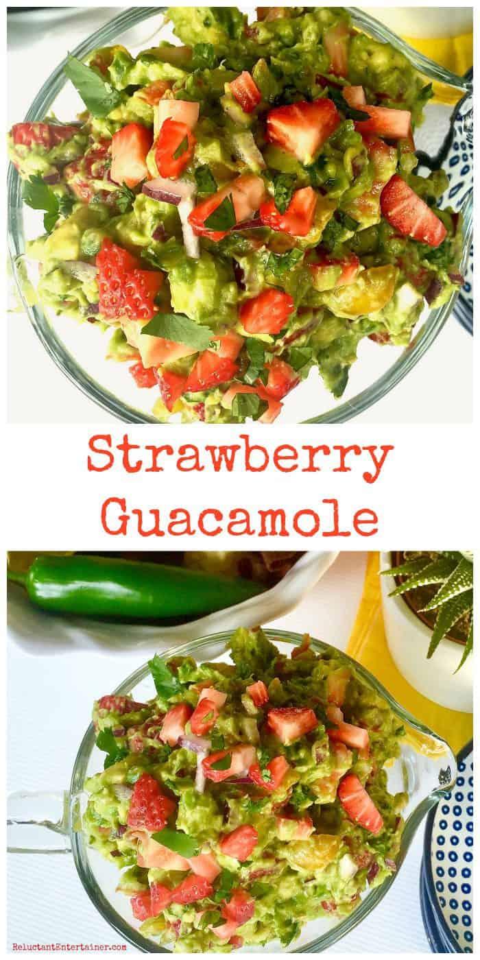 Best Strawberry Guacamole Recipe