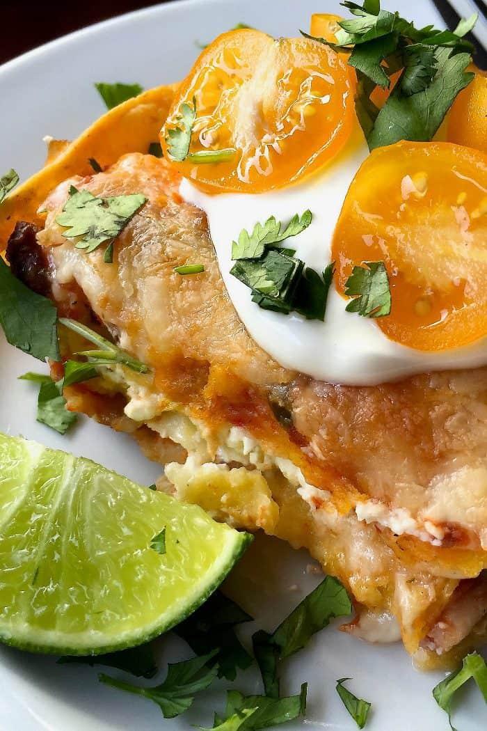 Easy Tortilla Chicken Pie Recipe