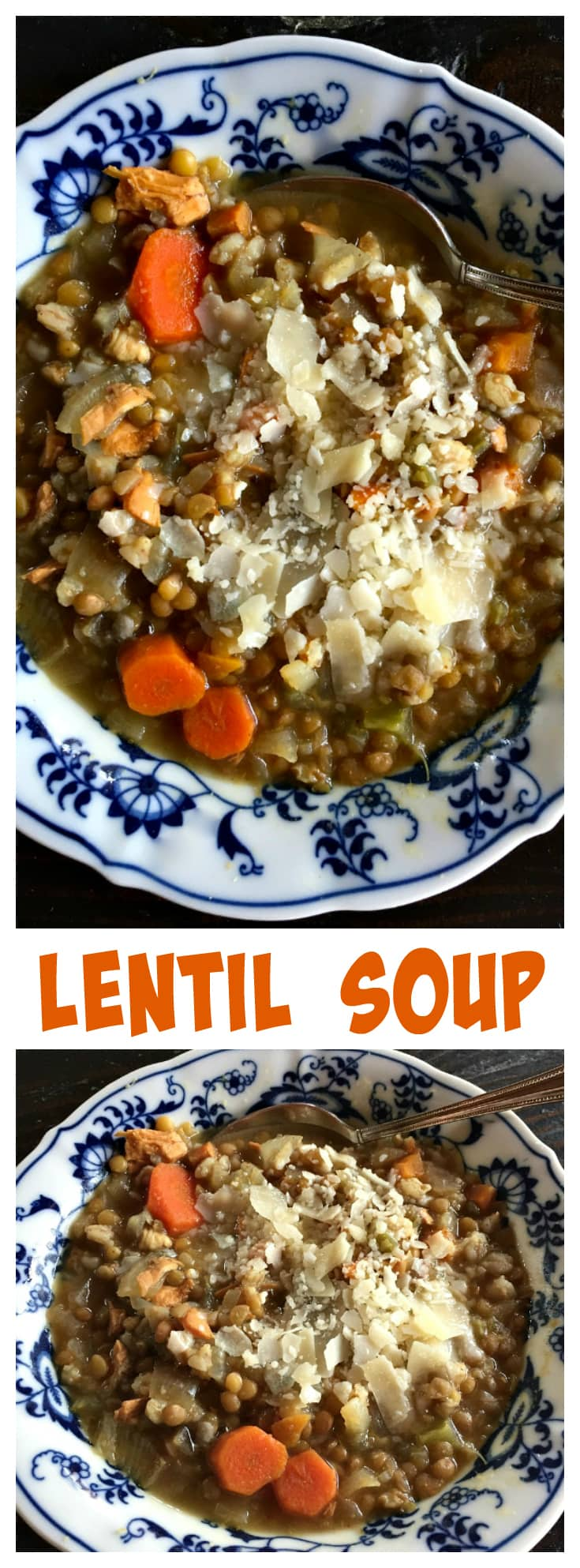 Lentil Soup at ReluctantEntertainer.com