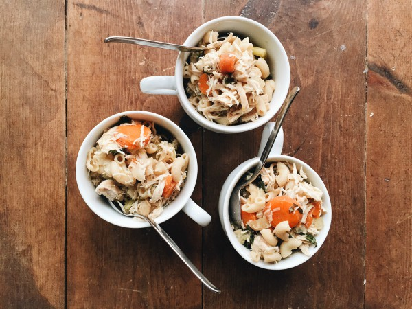 Elbow Macaroni Chicken Noodle Soup