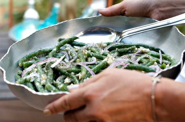 Green Beans Blue Cheese Salad