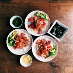 Jasmine Rice Poke Bowls