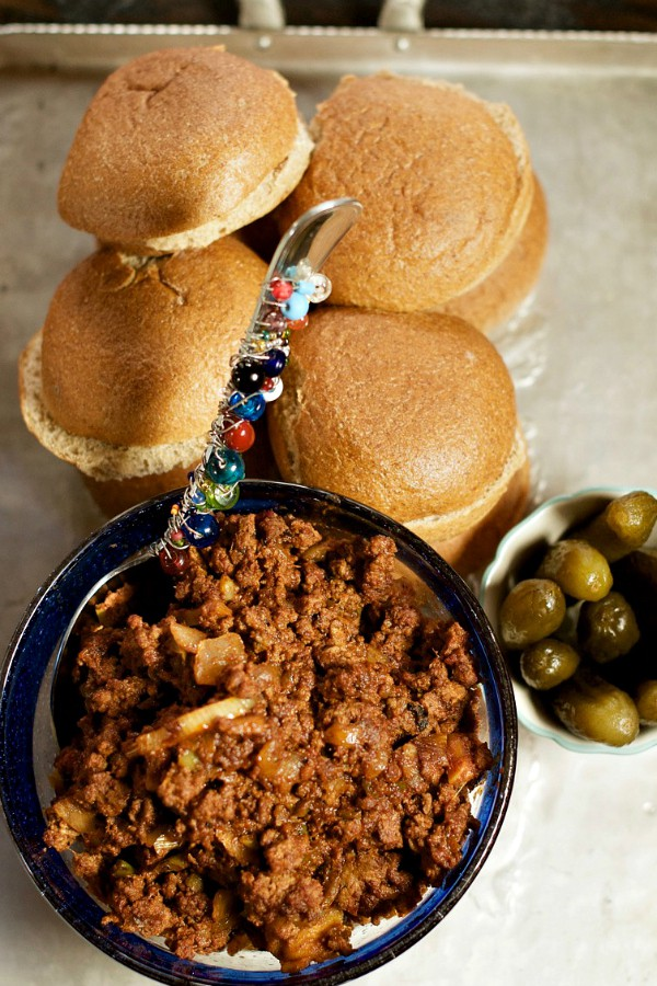 meat and buns for sloppy joe's
