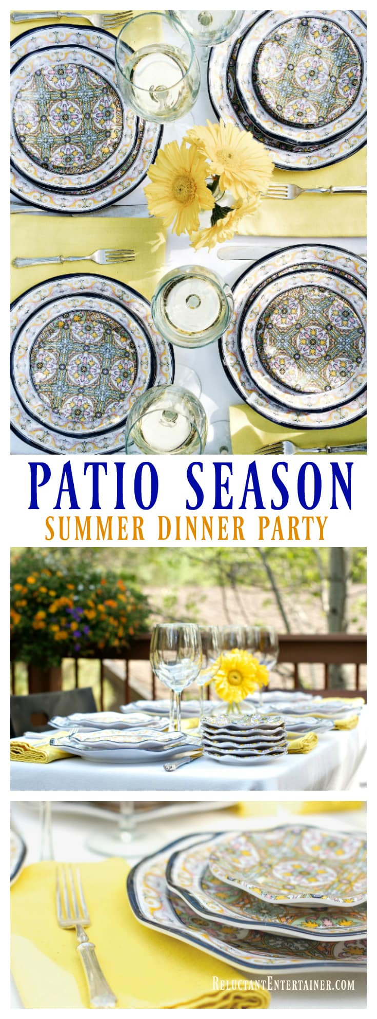 Patio Season with Q Squared NYC - Bella Donna Collection | ReluctantEntertainer.com