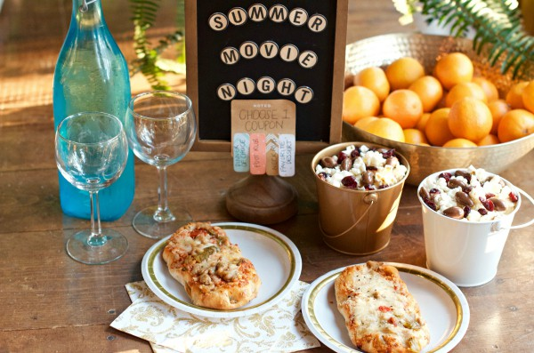 Artisan Style Melts for a Summer Movie Night