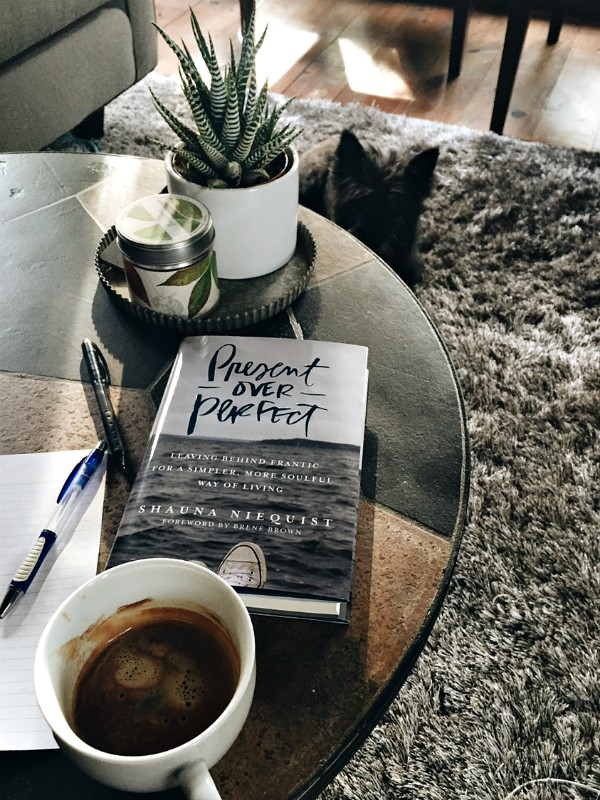 Present over Perfect, by Shauna Niequist
