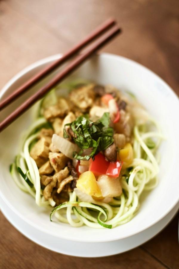 Zucchini Noodle Curry Recipe