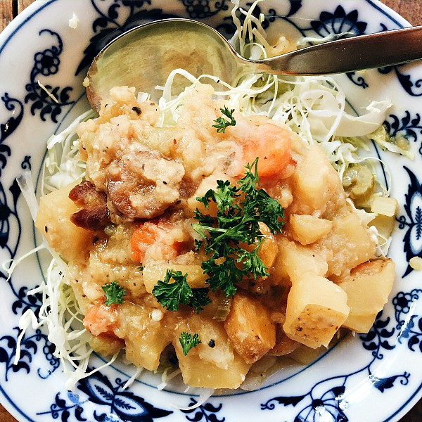 Lentil Root Vegetables Cabbage Salad