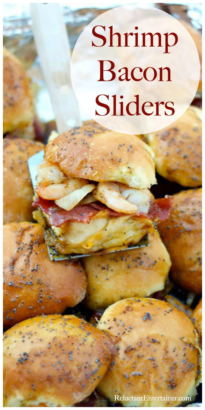 Best Shrimp Bacon Sliders Recipe