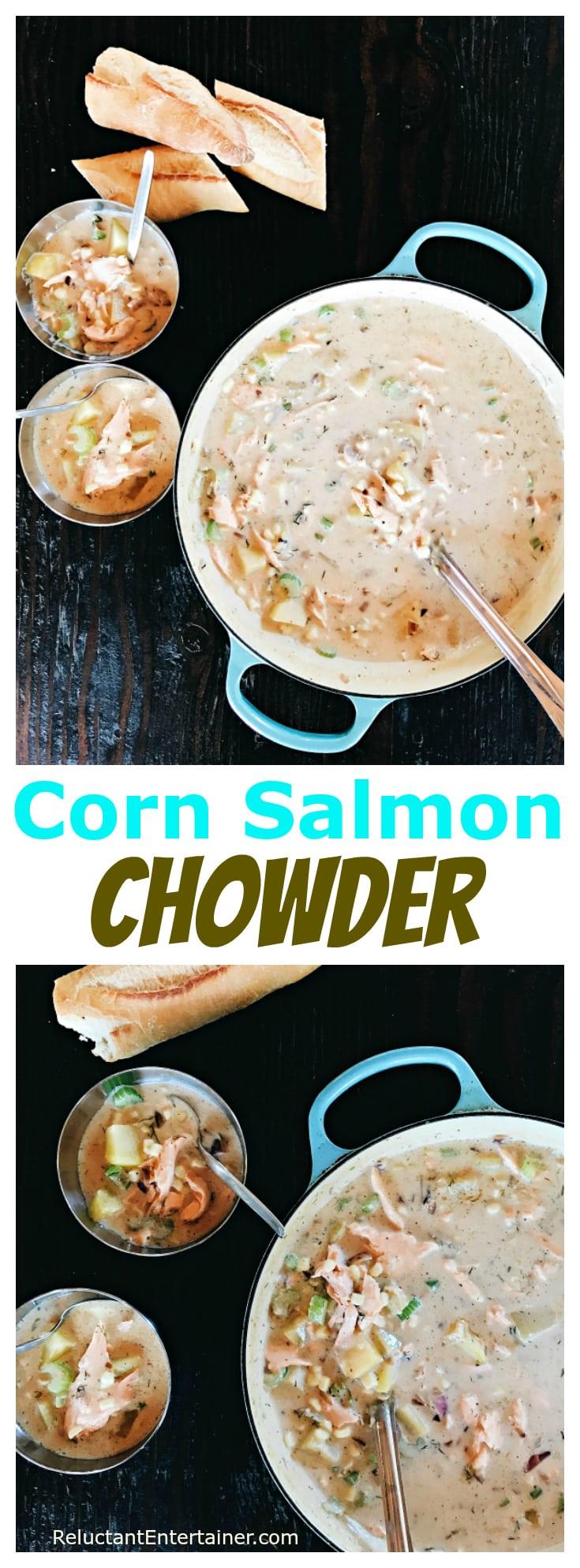 Corn Salmon Chowder Recipe