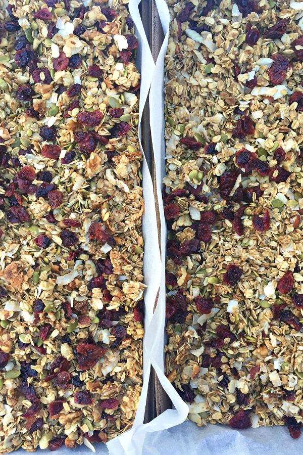 Pumpkin Seed Cranberry Granola