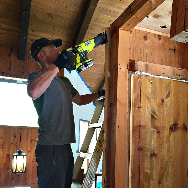 Mountain Home Fixer Upper with Ryobi Tools