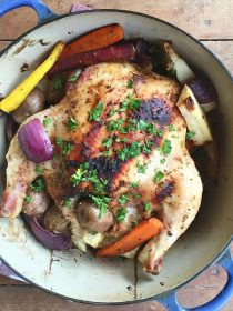Roasted Chicken with Root Vegetables