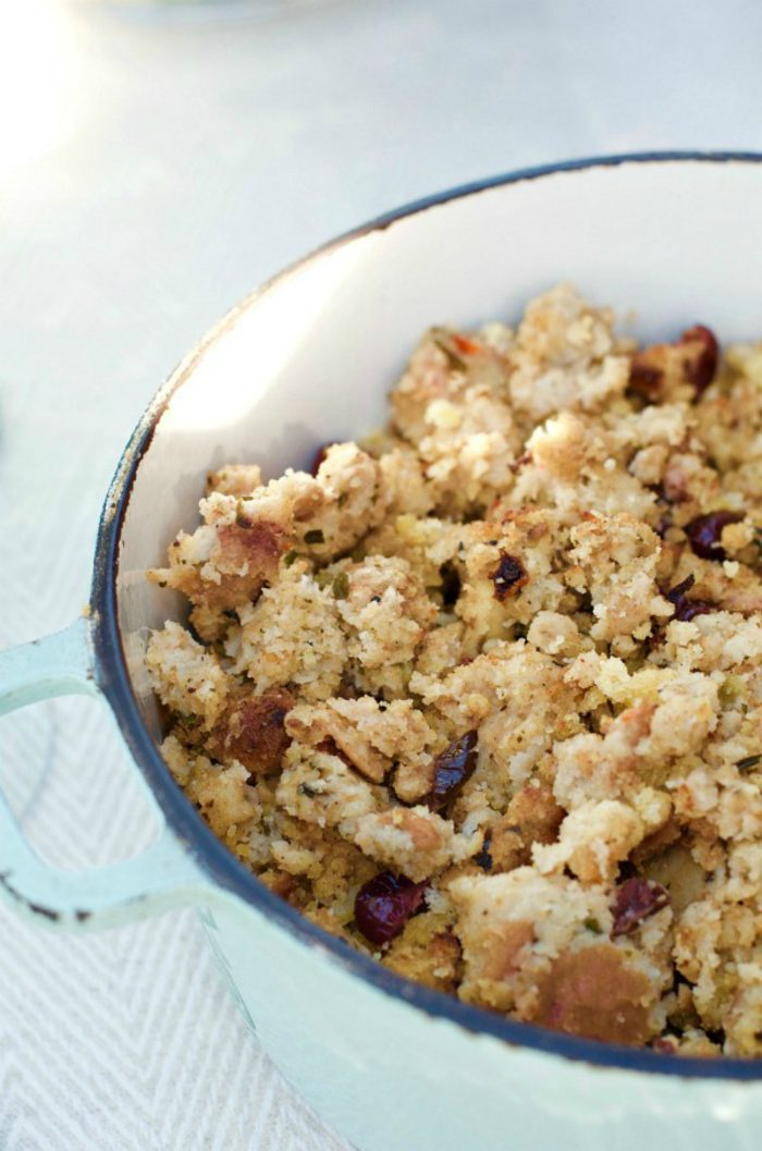 Best Chicken Sausage Apple Cornbread Stuffing