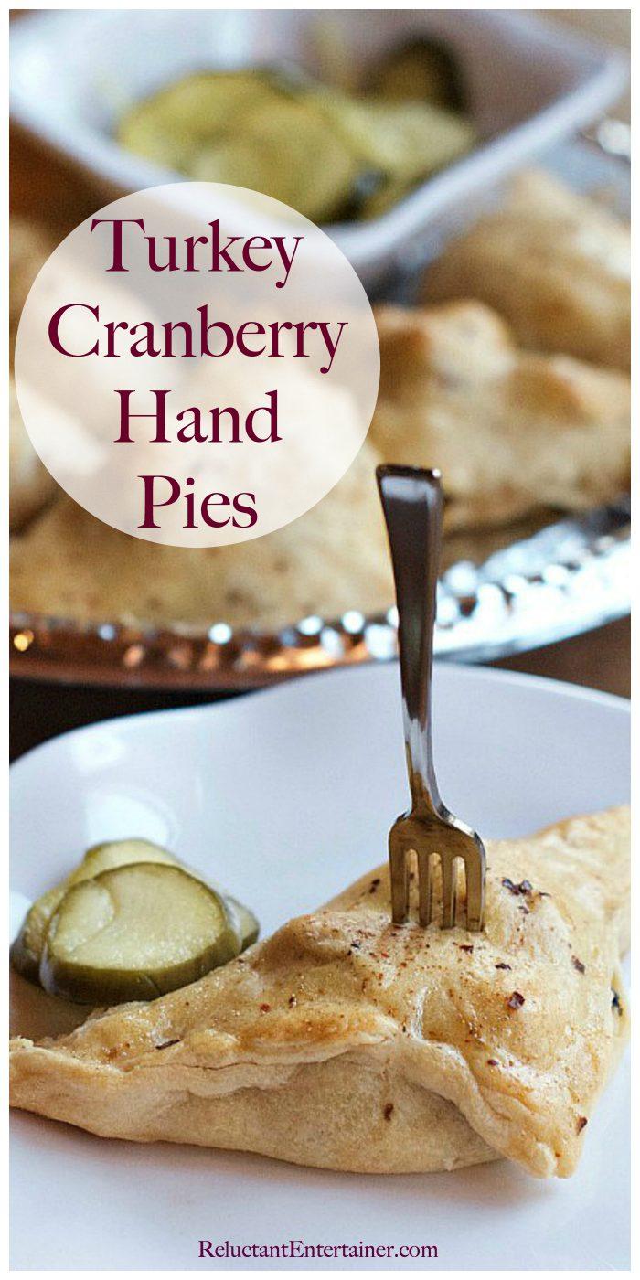 Turkey Cranberry Hand Pies Recipe