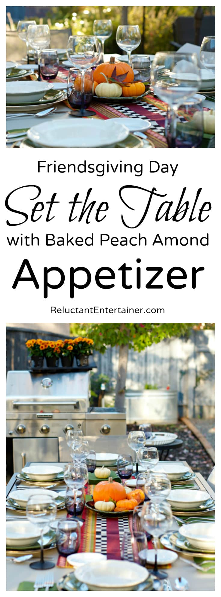 Baked Peach Almond Brie Appetizer