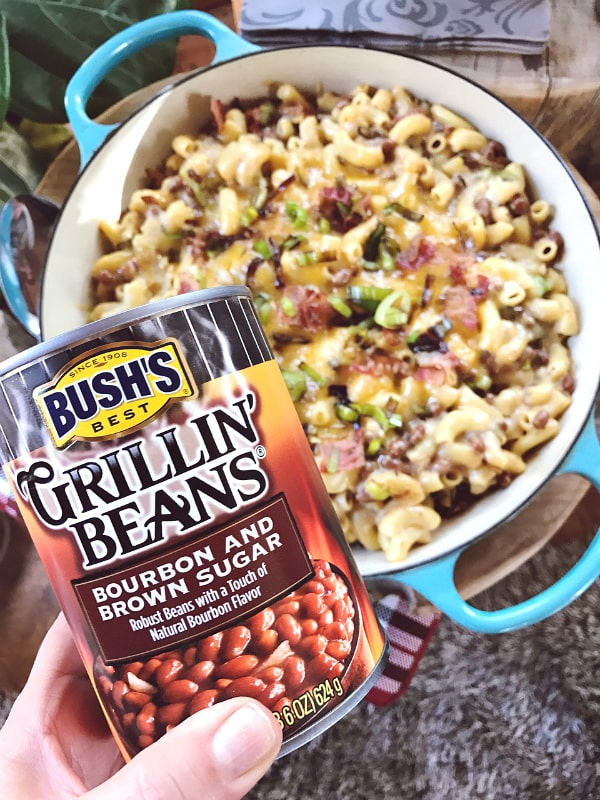 Bush's Beans Bacon Leek Macaroni and Cheese