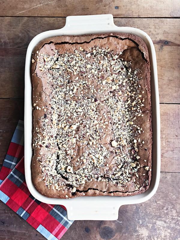 BEST Chocolate Hazelnut Brownies