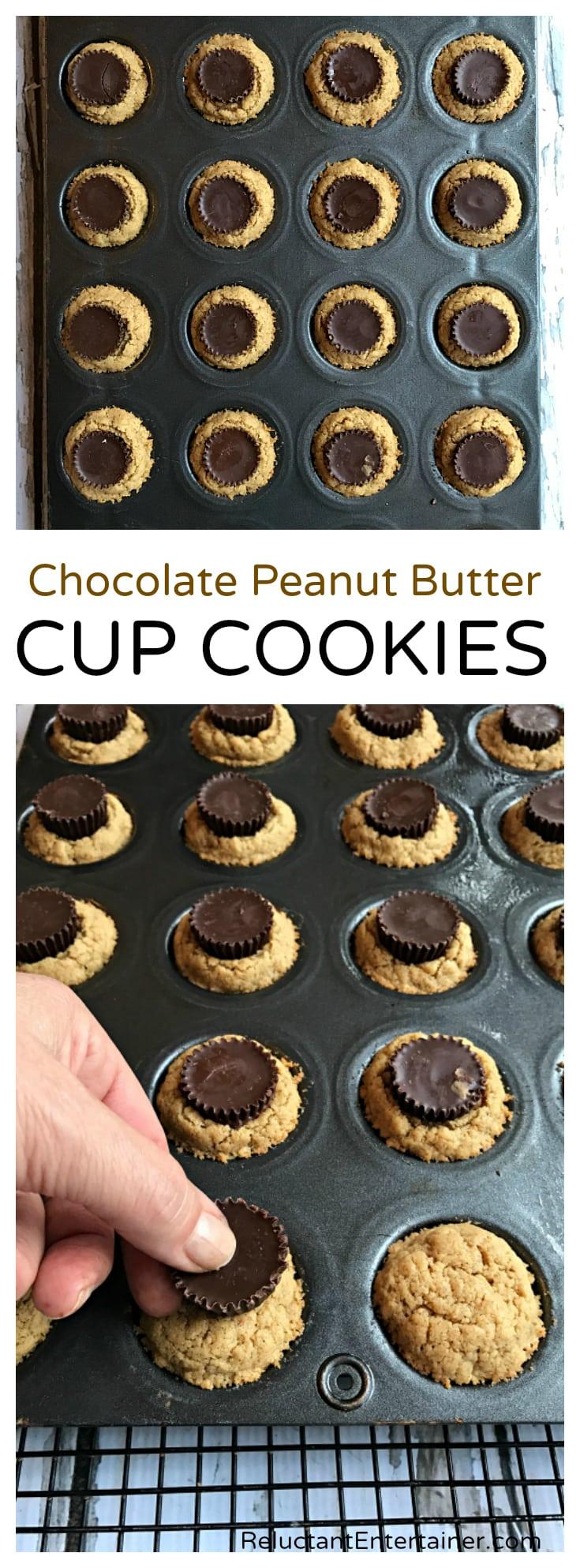 Chocolate Peanut Butter Cup Cookies Recipe