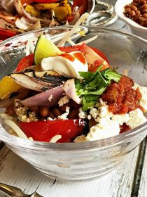Smoky Vegetarian Quinoa Bowl