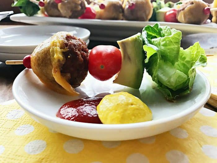 Best Avocado Cheeseburger Meatballs Appetizer