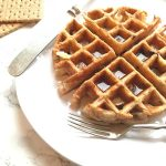 BEST Graham Cracker Whole Grain Waffles