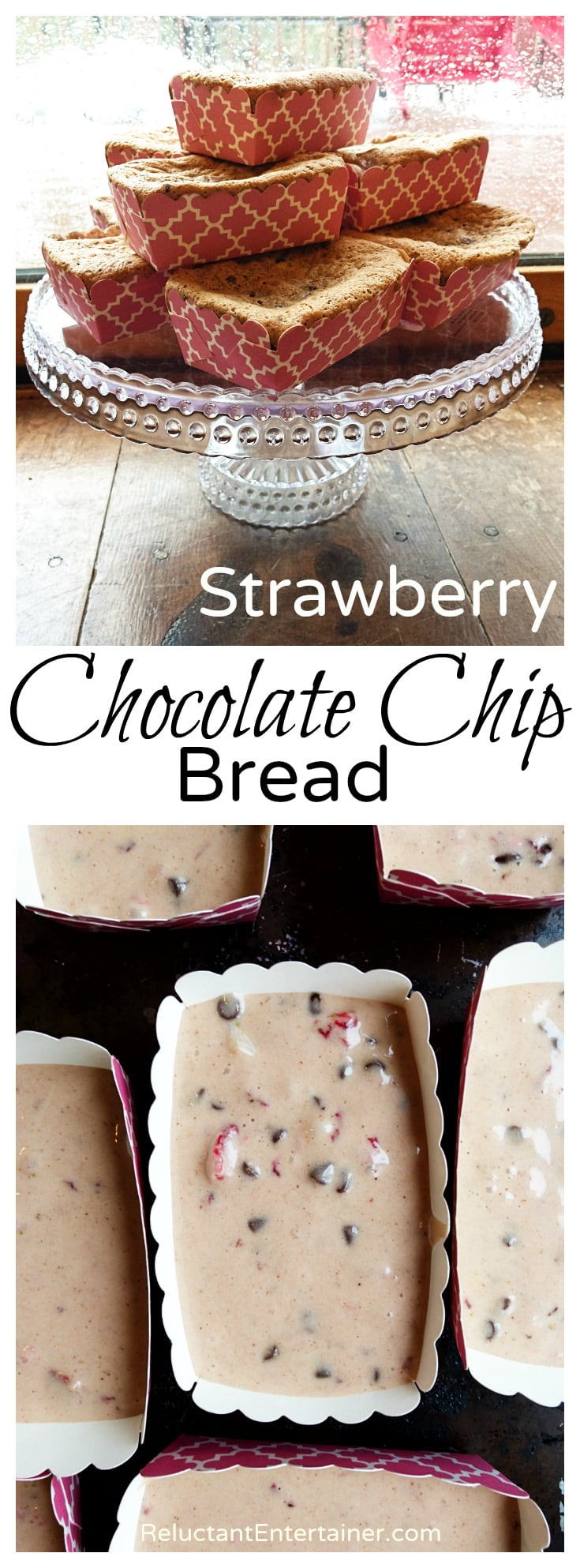 Strawberry Chocolate Chip Bread Recipe
