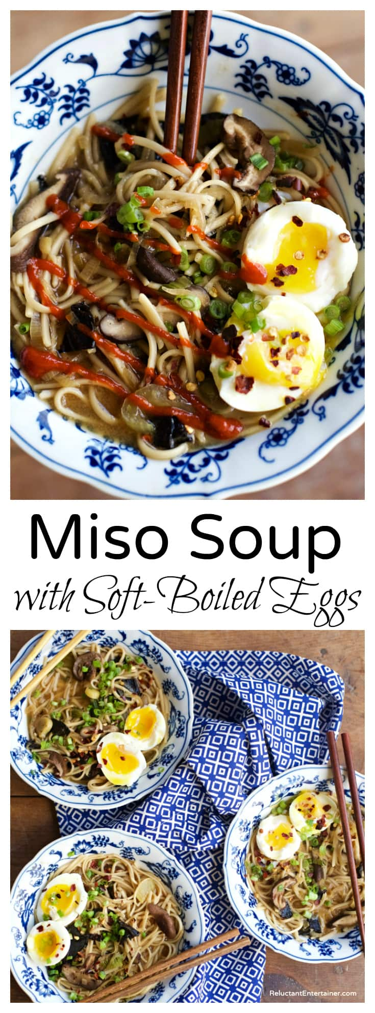 Miso Soup Recipe with Soft-Boiled Eggs