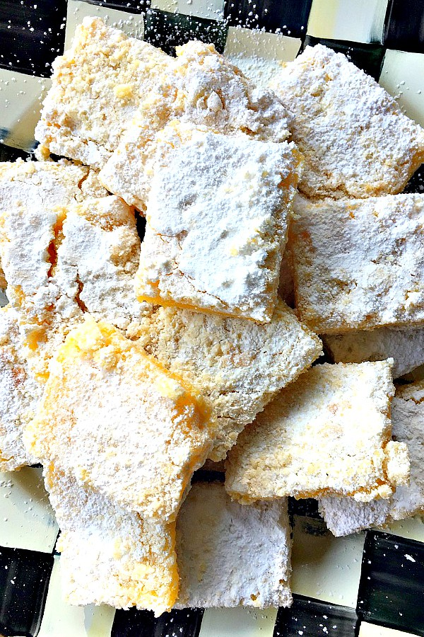 BEST Lemon Squares Recipe