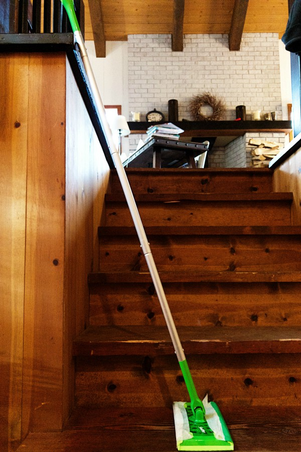 Mountain Home Wood Floors #GottaSwiffer