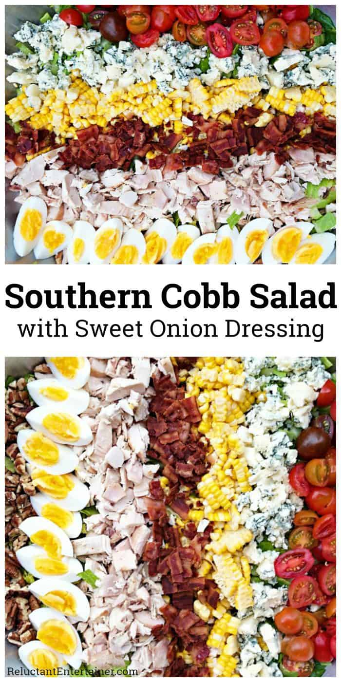 Southern Cobb Salad with Sweet Onion Dressing Recipe