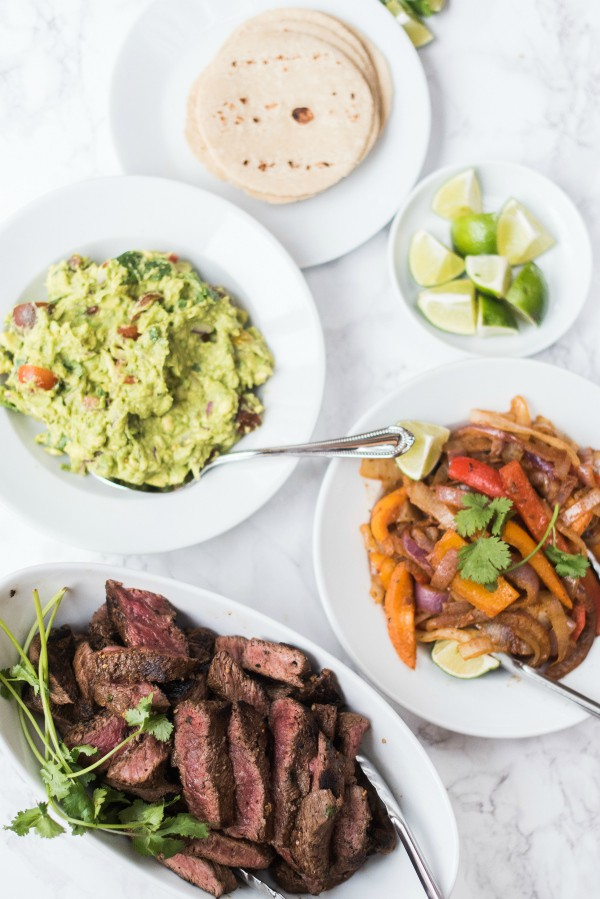 Chili Lime Steak Fajita Tacos Recipe