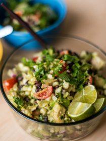 Southwest Avocado Chicken Salad