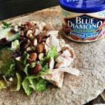 Cranberry Almond Chicken Salad Wrap