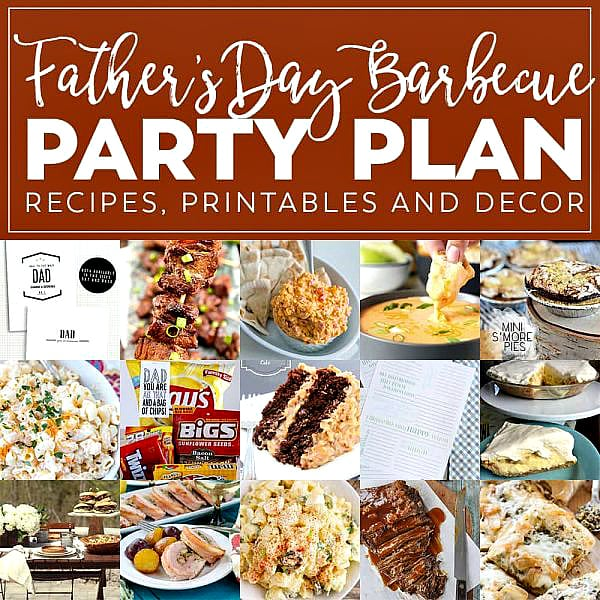 Summer Barbecue Meal Plan Party