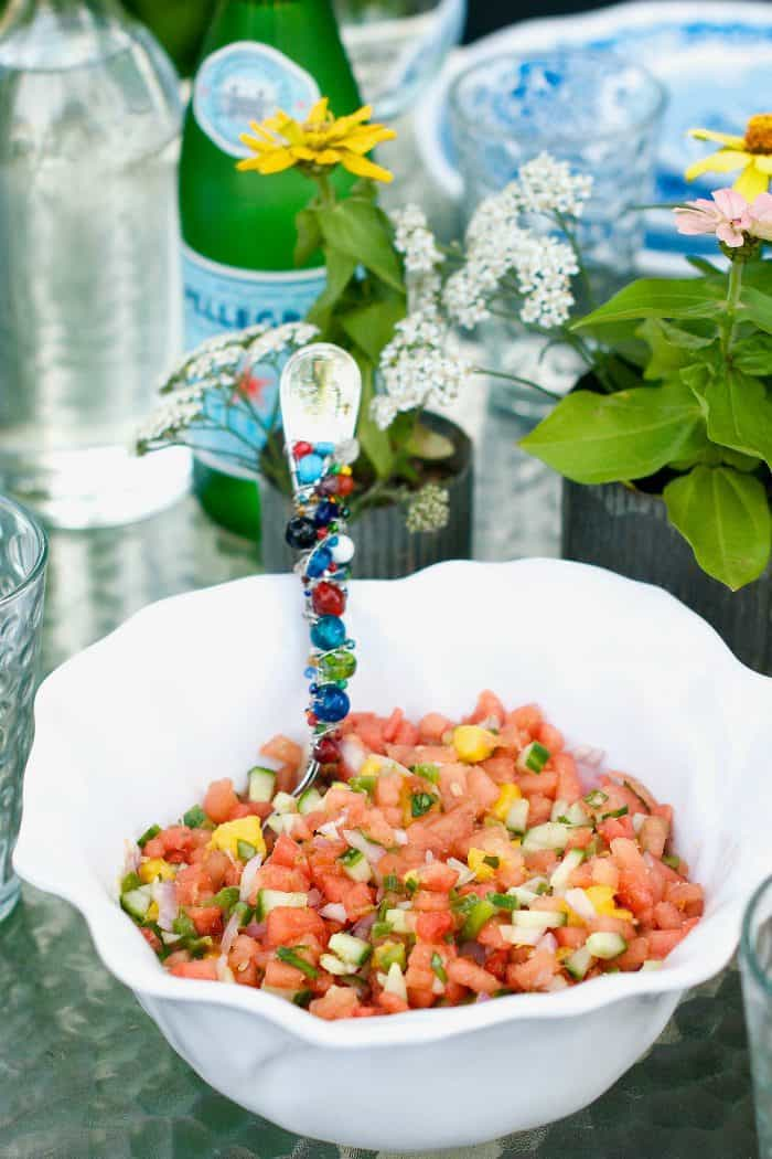 Summertime Watermelon Salsa