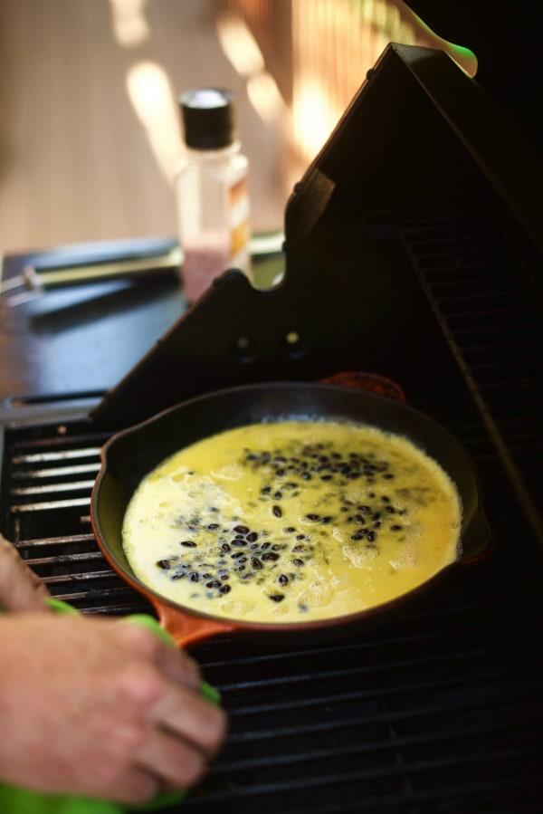 Grilled Zucchini Black Bean Quesadillas